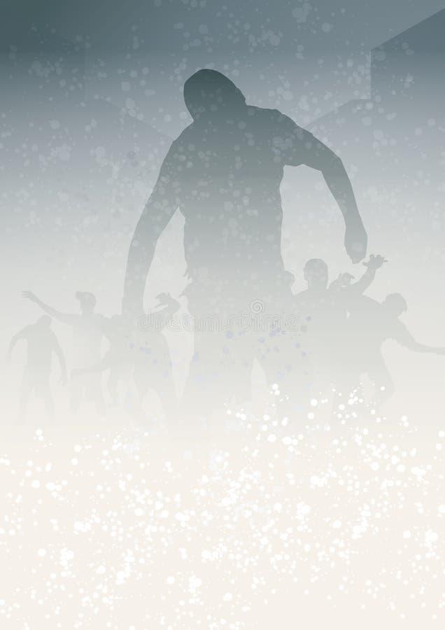 Zombi 1 que camina libre illustration