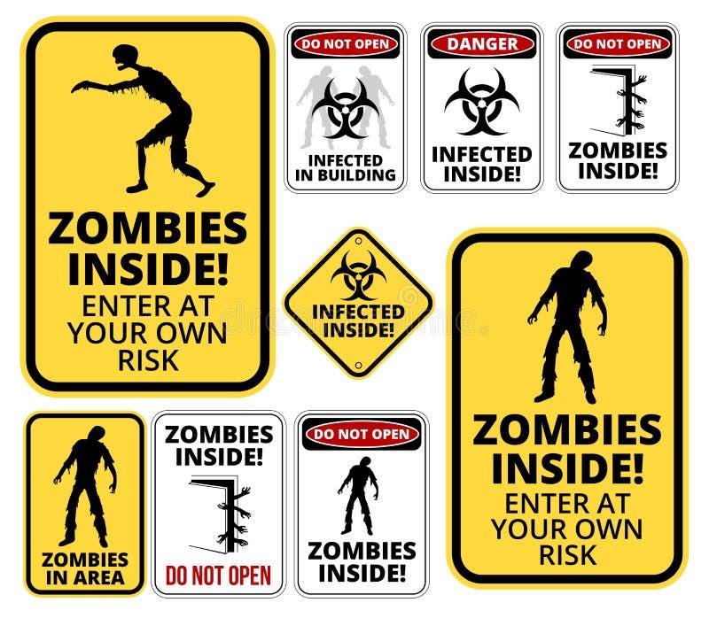 Zombie μέσα απεικόνιση αποθεμάτων