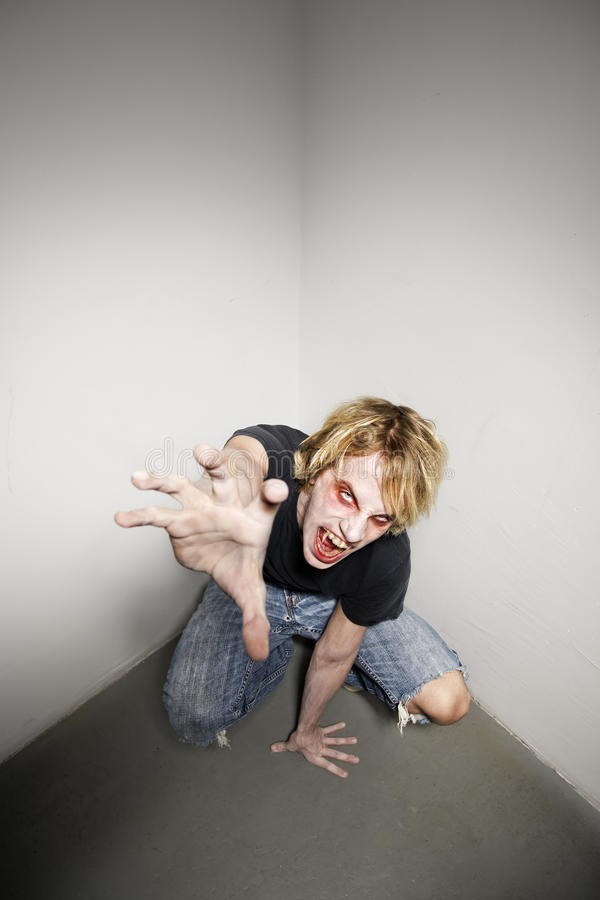 Zombie royalty-vrije stock foto's