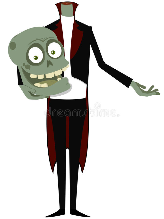Download The zombie stock vector. Illustration of undead, cemetery - 16006852