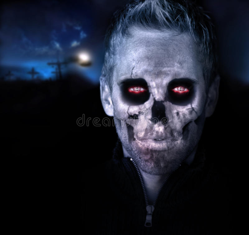 Download Zombie stock photo. Image of dark, head, spooky, blood - 27131208