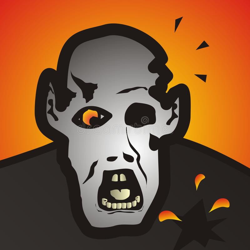 Download Zombie stock illustration. Image of people, fright, bugaboo - 27436102
