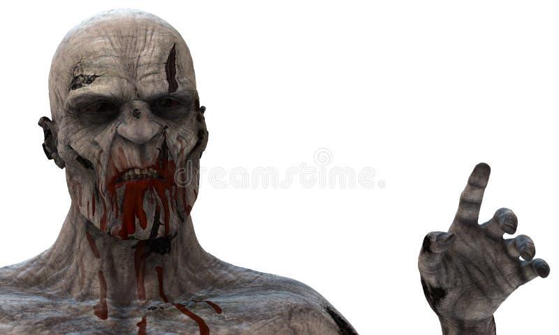 zombie immagine stock