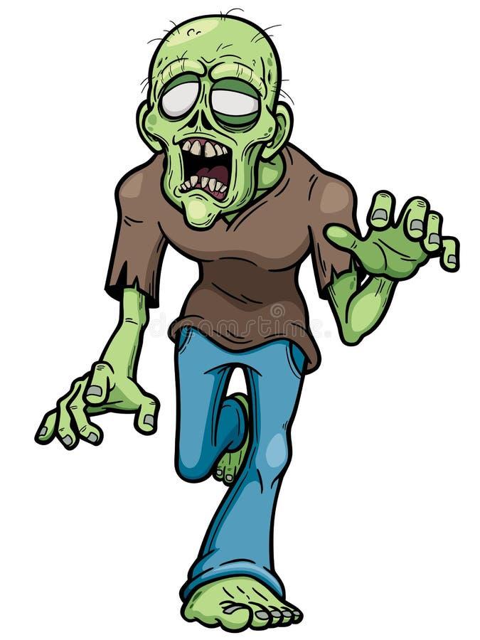 zombie stock illustratie