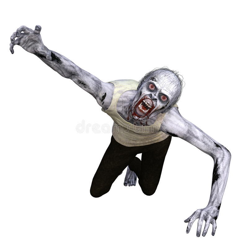 zombie royalty illustrazione gratis