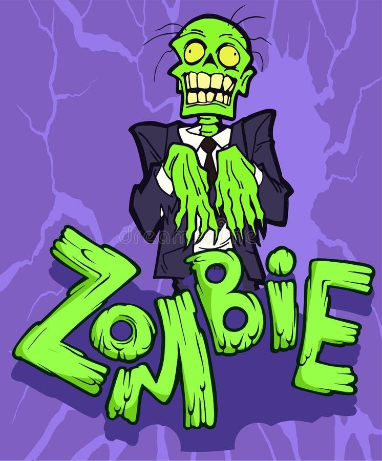 zombie illustrazione vettoriale