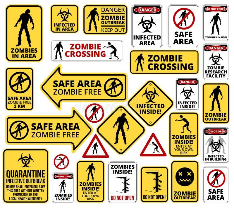 zombie απεικόνιση αποθεμάτων