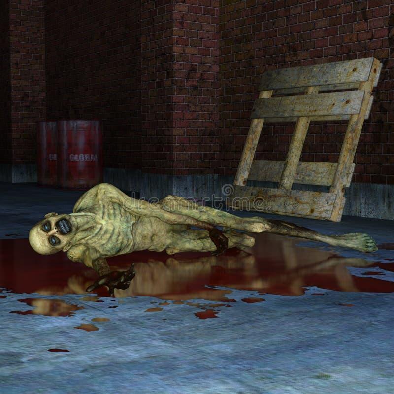 zombie ελεύθερη απεικόνιση δικαιώματος