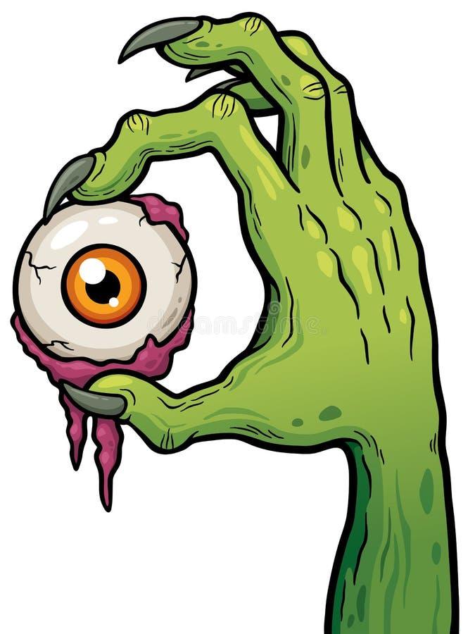 zombie vektor abbildung