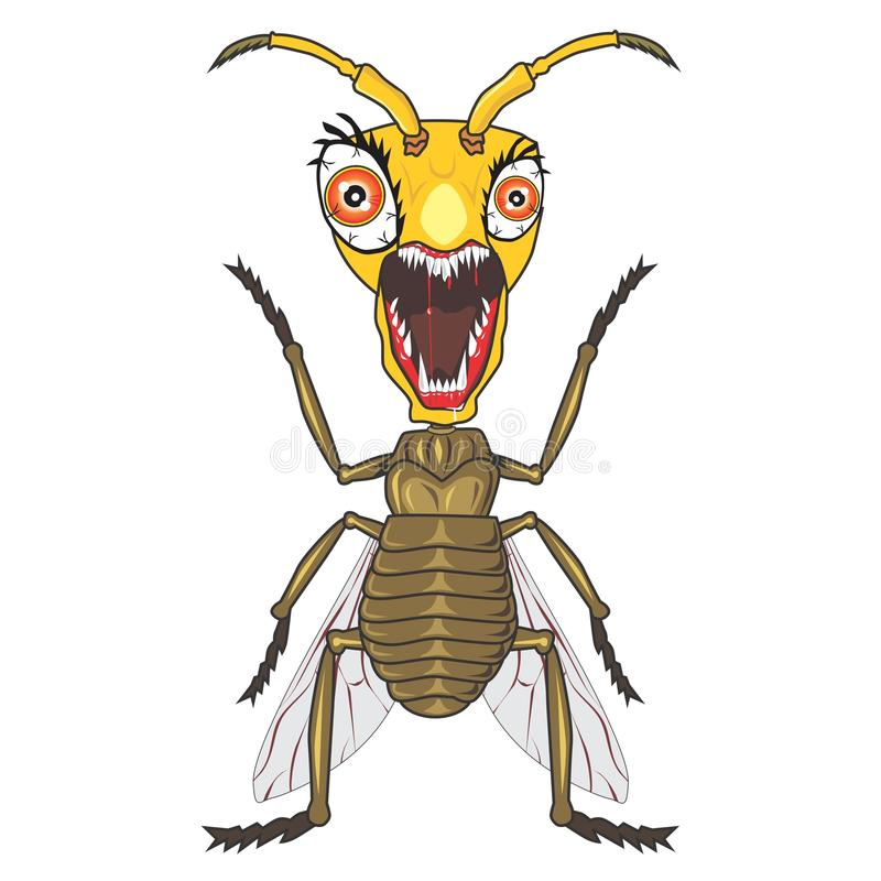 Zombie bugs cartoon4. Zombie bugs cartoon, I made it using coreldraw. Very suitable for printing, nweb and other digital purposes vector illustration