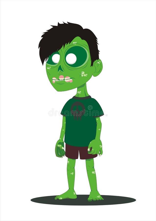 Zombie dell'antagonista fotografia stock libera da diritti
