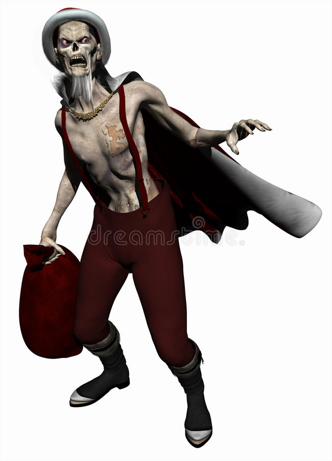 Free Zombie Father Christmas Stock Image - 11692581