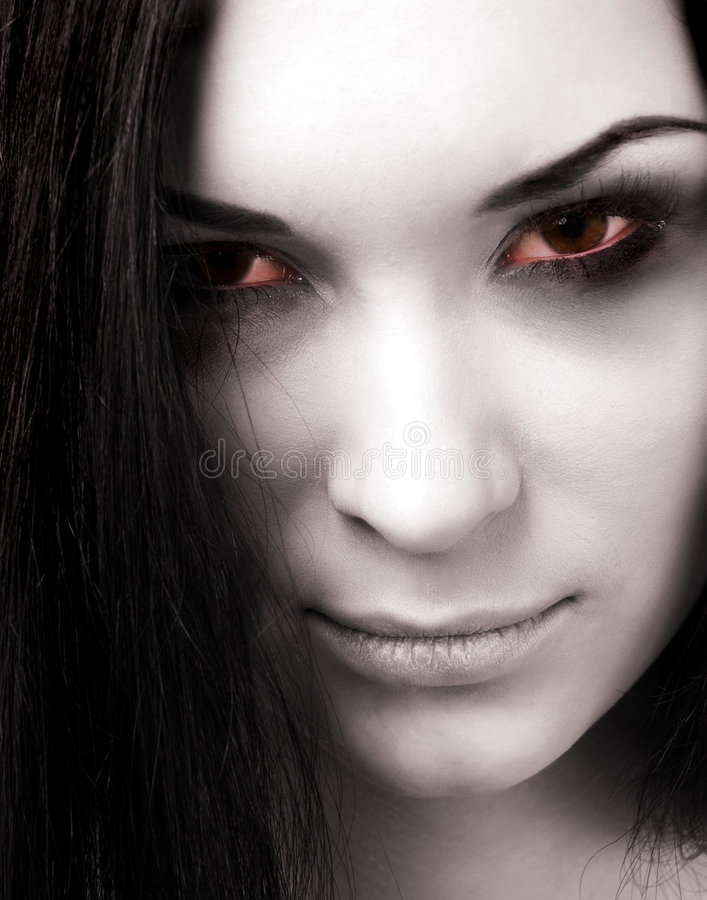 Download Zombie girl stock photo. Image of devil, attractive, fashion - 8572898