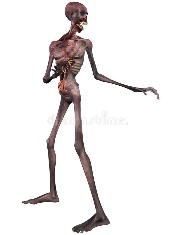 Download Zombie - Halloween Figure stock illustration. Image of fear - 10816041