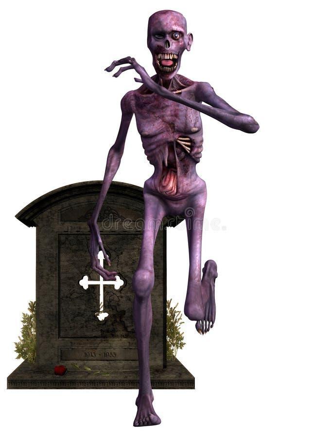 Download Zombie - Halloween Figure stock illustration. Illustration of scary - 15830364
