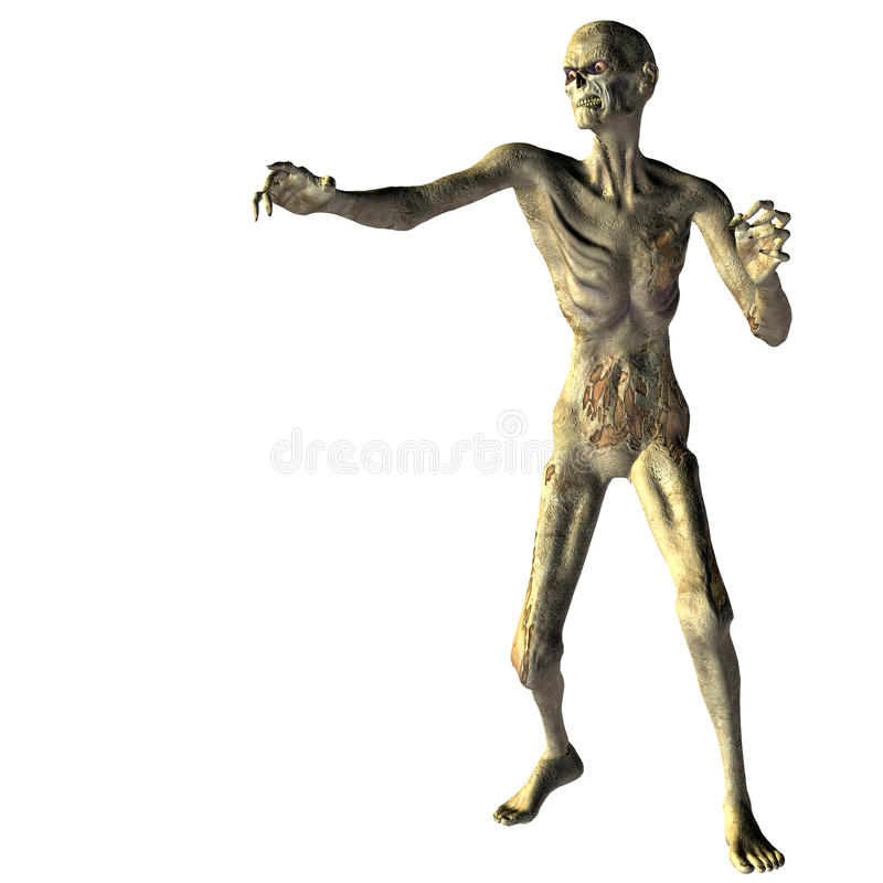 Download Zombie With Outstretched Hand Royalty Free Stock Photography - Image: 15402147