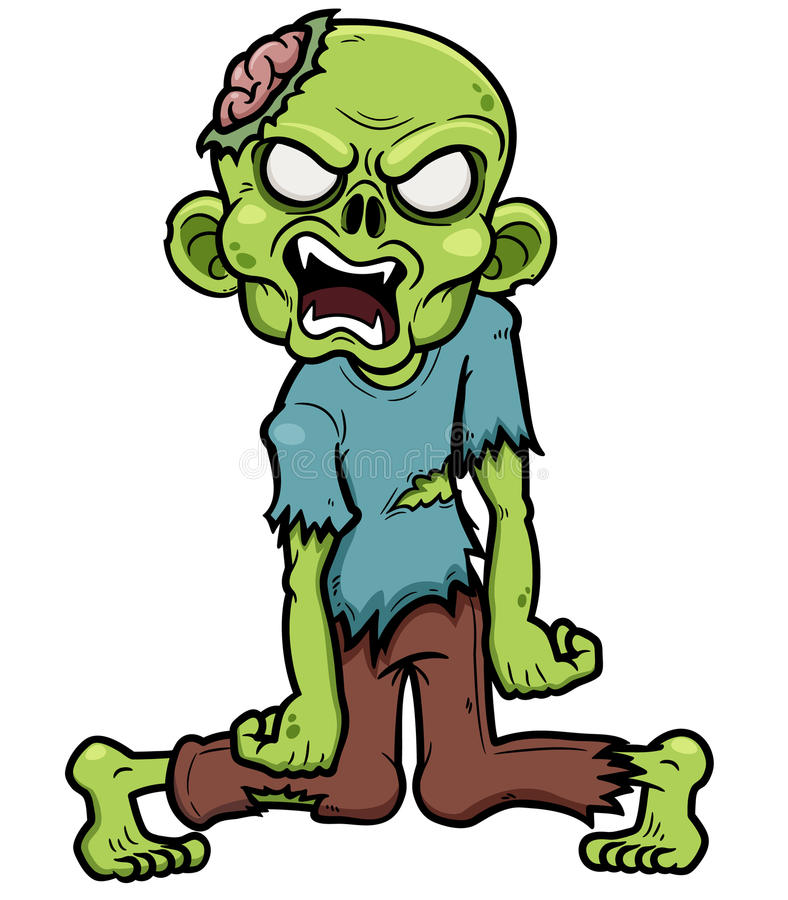 Zombie royalty free illustration