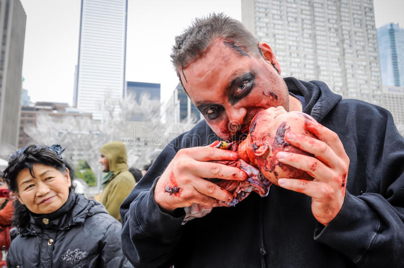 Download Zombie Walk editorial image. Image of decay, canada, people - 34751825
