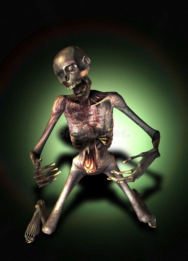 Zombie Walking Stock Image
