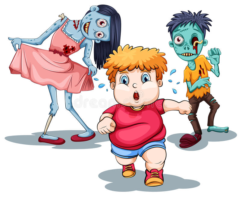 zombies απεικόνιση αποθεμάτων