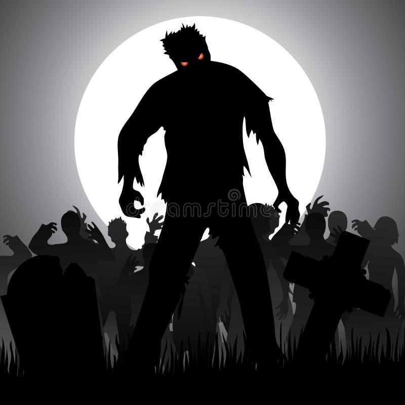 zombies stock illustratie