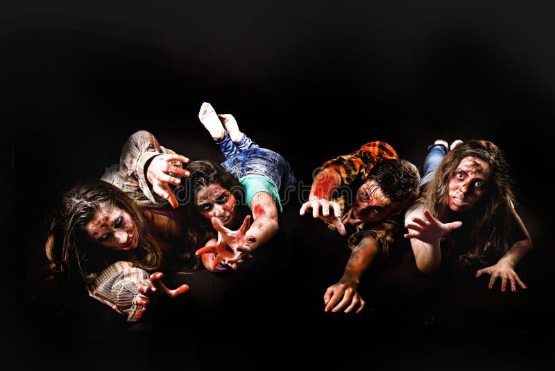 zombies stockfoto