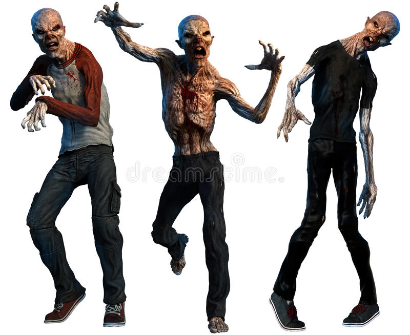zombies lizenzfreie abbildung