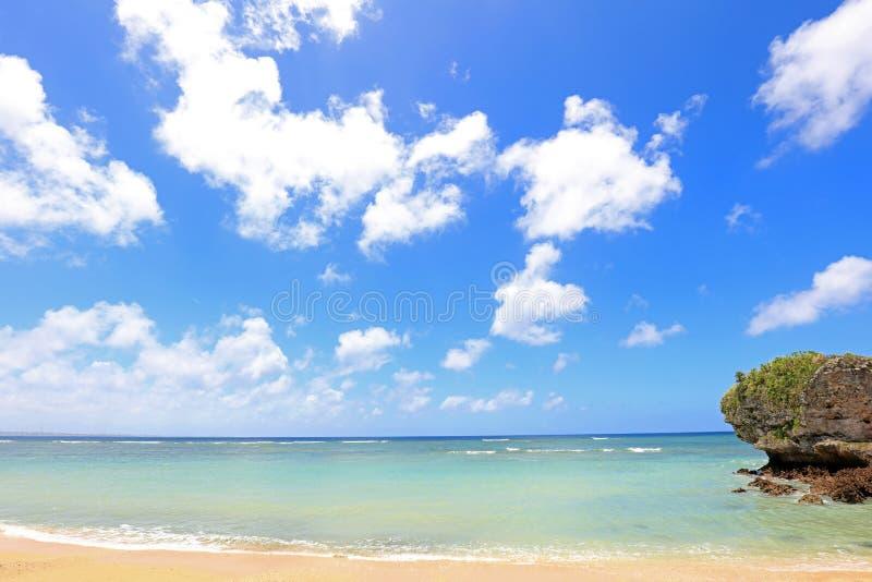 Zomer bij het strand royalty-vrije stock foto's