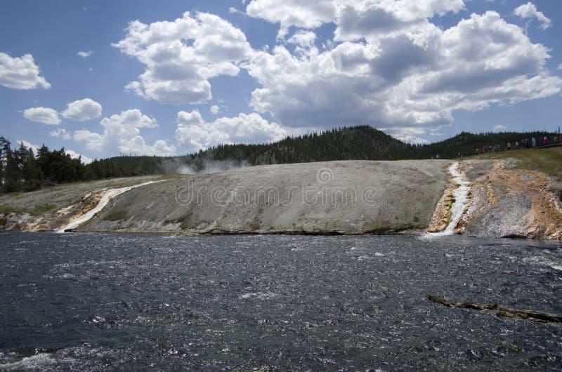 Zomer van het Yellowstone de Nationale Park royalty-vrije stock fotografie
