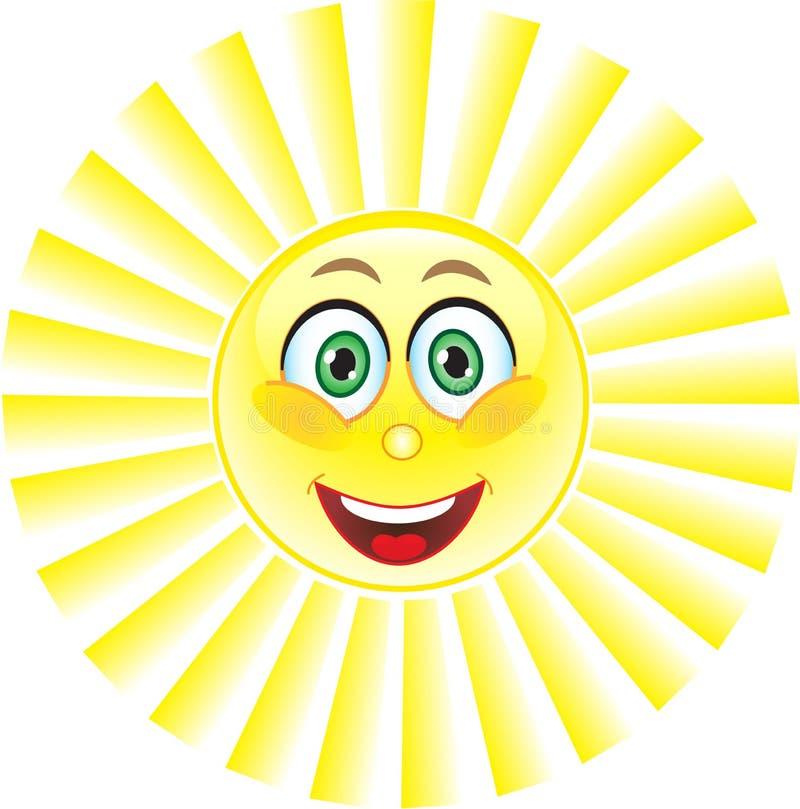 Zon, Glimlach. Symbool.