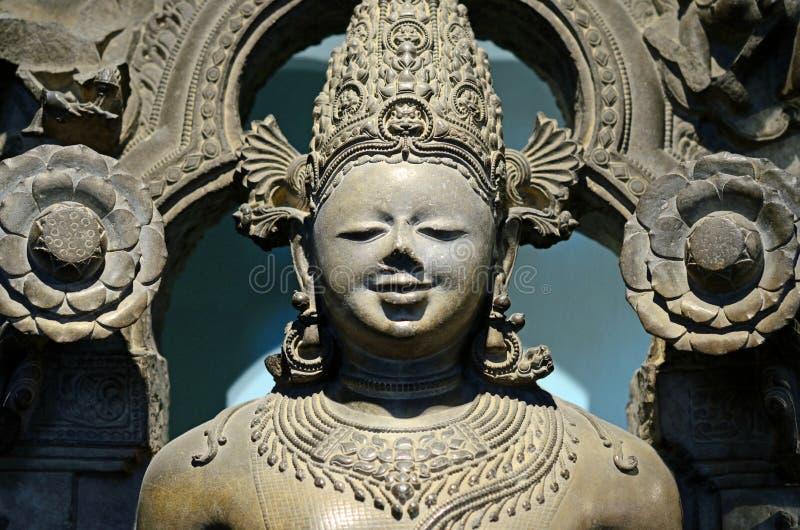 Zon-god Surya-beeldhouwwerk royalty-vrije stock fotografie