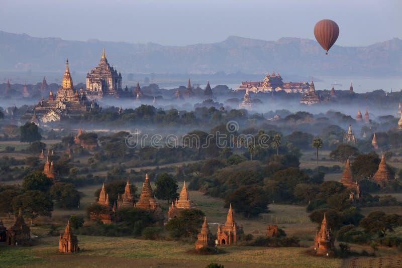 Zona archeologica - Bagan - Myanmar immagine stock libera da diritti