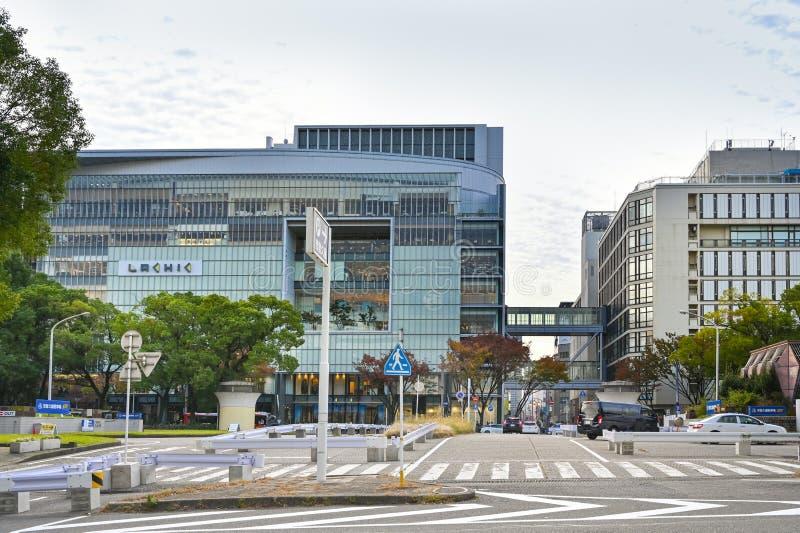Zona comercial de Sakae, Nagoya (Japón) foto de archivo libre de regalías