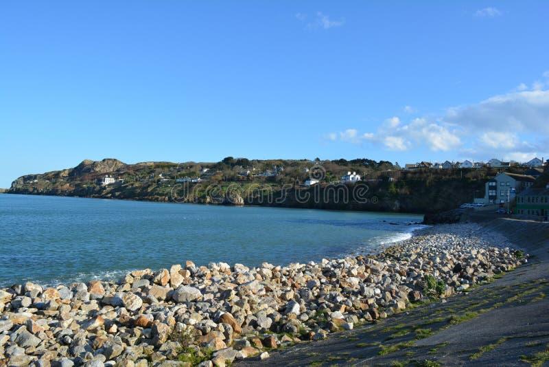 Zona costera de la bahía de Howth imagenes de archivo