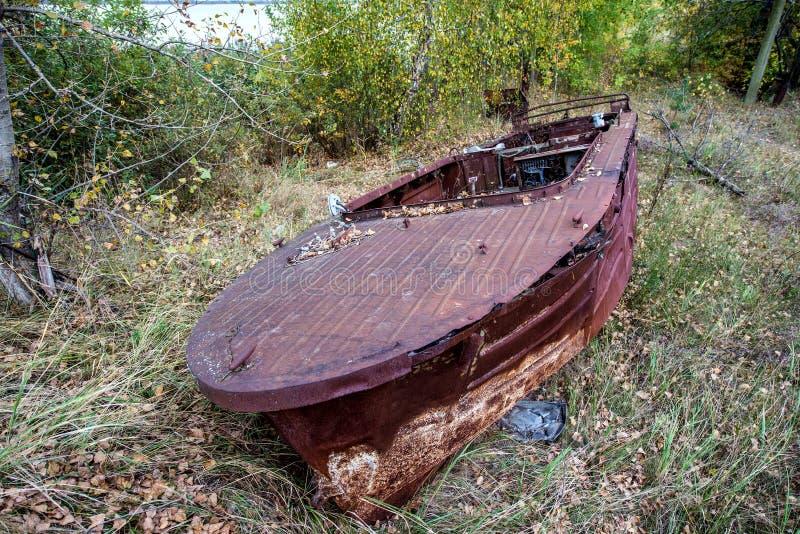 Zona de Chernóbil fotos de archivo
