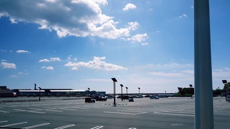 Zona de estacionamiento foto de archivo libre de regalías