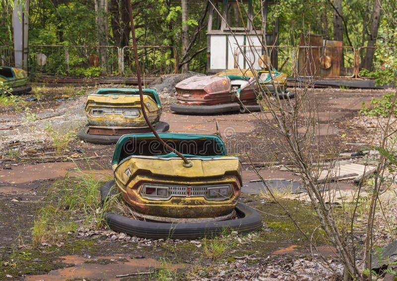 Zona de exclusión de Chernóbil foto de archivo libre de regalías