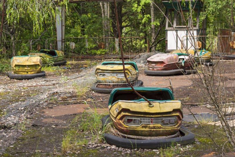 Zona de exclusión de Chernóbil imagenes de archivo