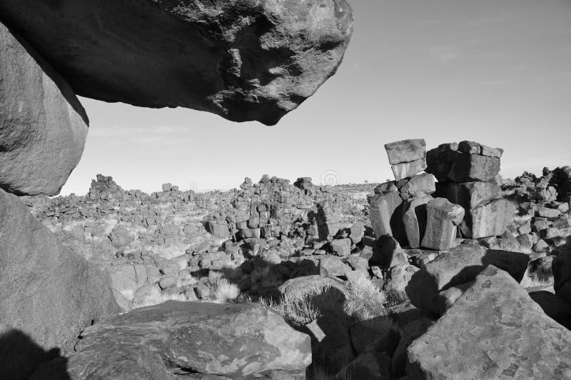 Zona de juegos gigantes en el sur de Namibia fotografía de archivo libre de regalías