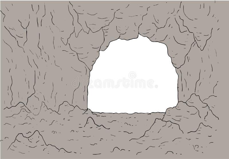 Zona de la roca libre illustration