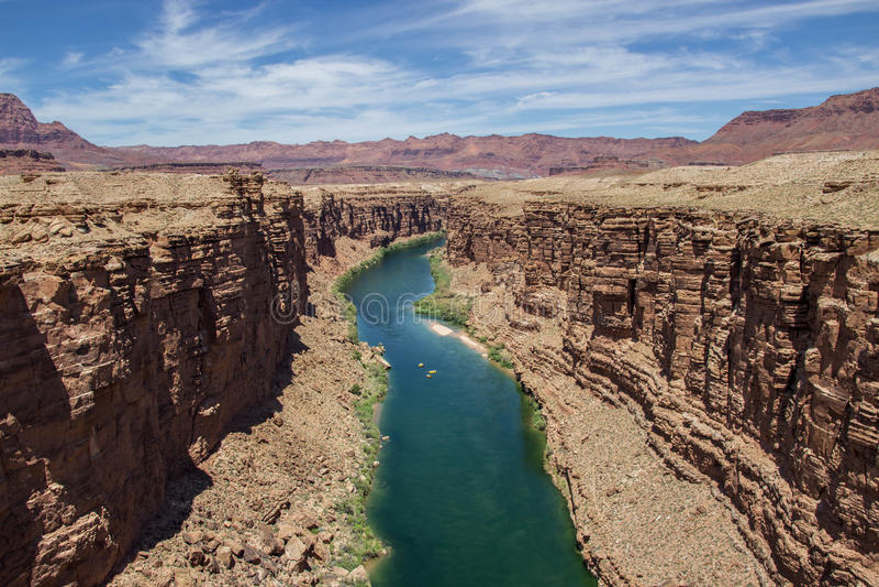Zona del grande canyon immagine stock