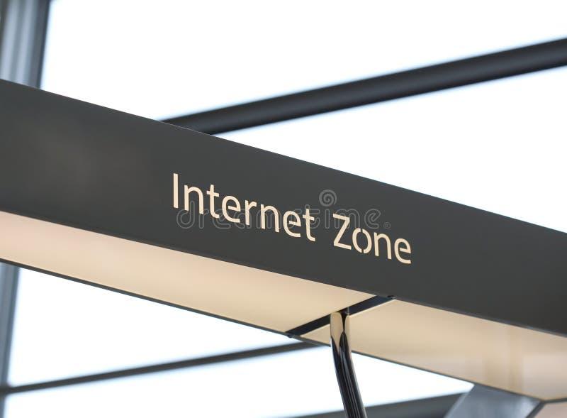 Zona del Internet imagen de archivo