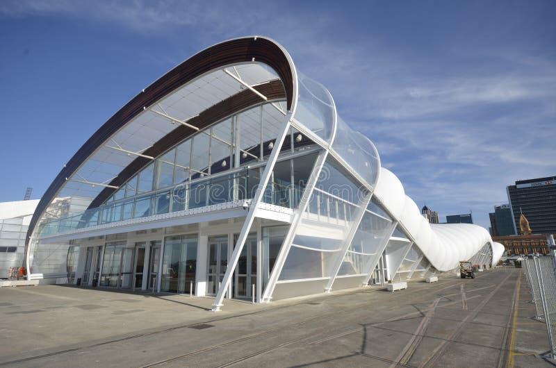 Zona del ventilatore della tazza di mondo di rugby a Auckland immagine stock libera da diritti
