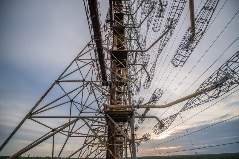 Zona di Cernobyl fotografie stock libere da diritti