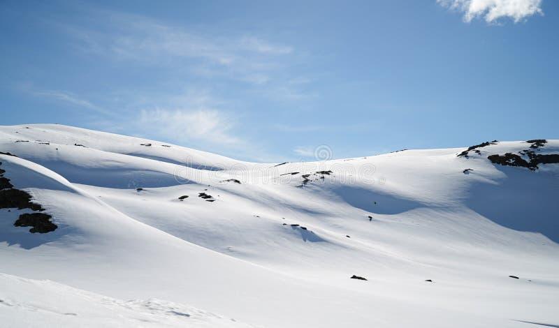 Zona di montagna norvegese immagine stock