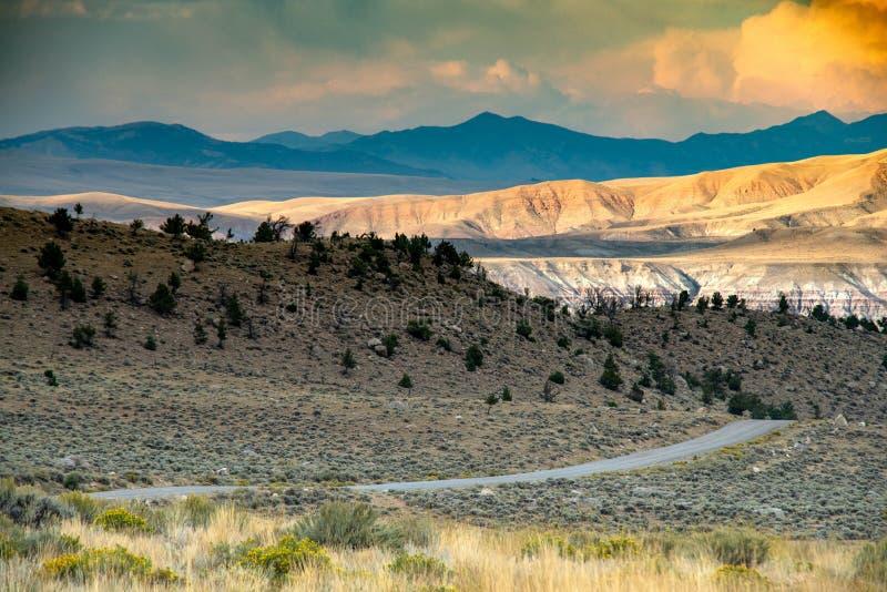 Zona di montagna spettacolare del whiskey fotografie stock libere da diritti