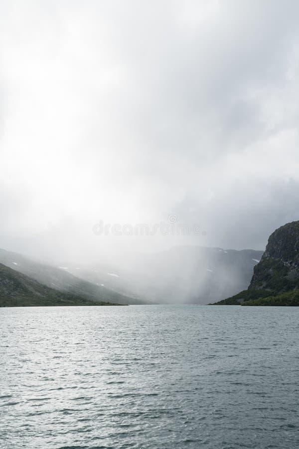 Zona di montagna vicino a Geilo immagine stock libera da diritti