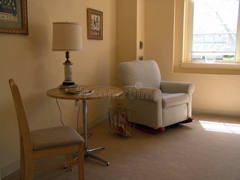 Zona di seduta in appartamento immagini stock