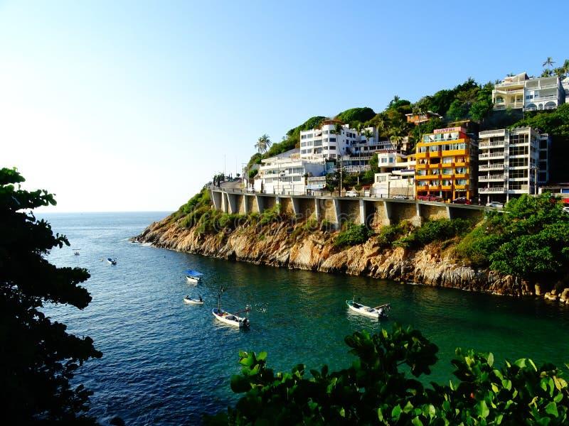 Zona diamante, Acapulco, Guerrero, natuurlijke Belleza, paisajes hermosos stock afbeelding
