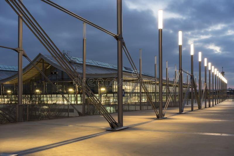 Zona fieristica di Hannover fotografia stock libera da diritti